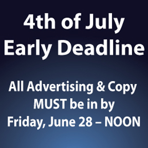 4th of July deadline