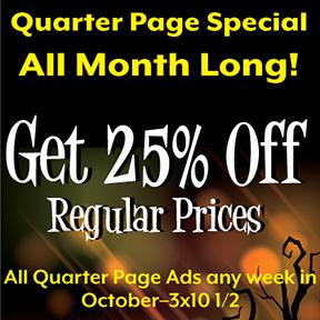 October Quarter Page Special
