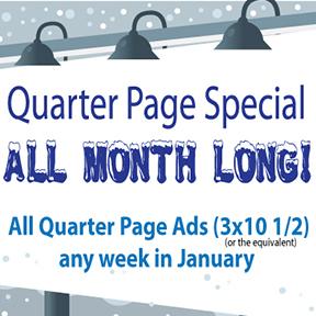 Quarter Page Special