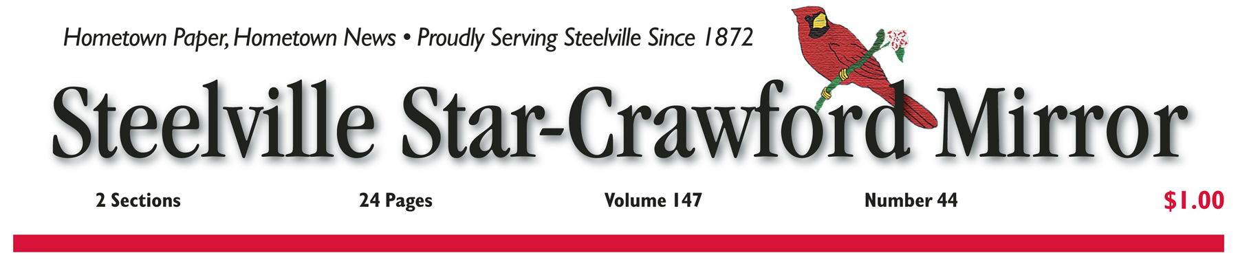 1 Year Steelville Star-Crawford Mirror in Crawford and Adjoining Counties with website access